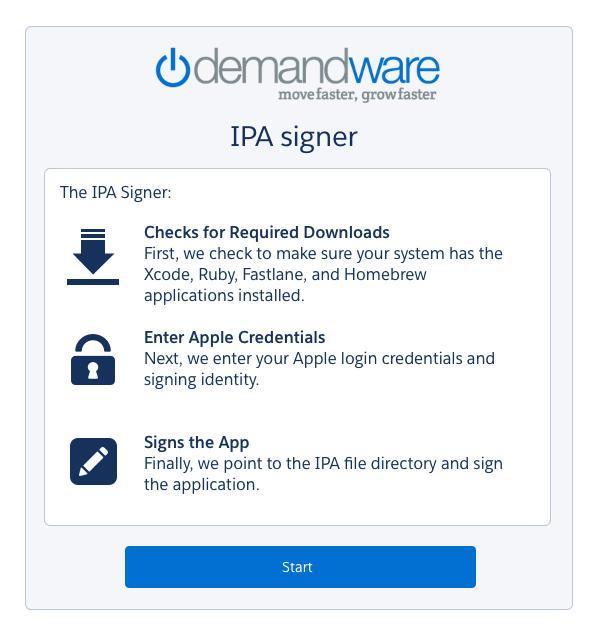 IPA Intro Screen
